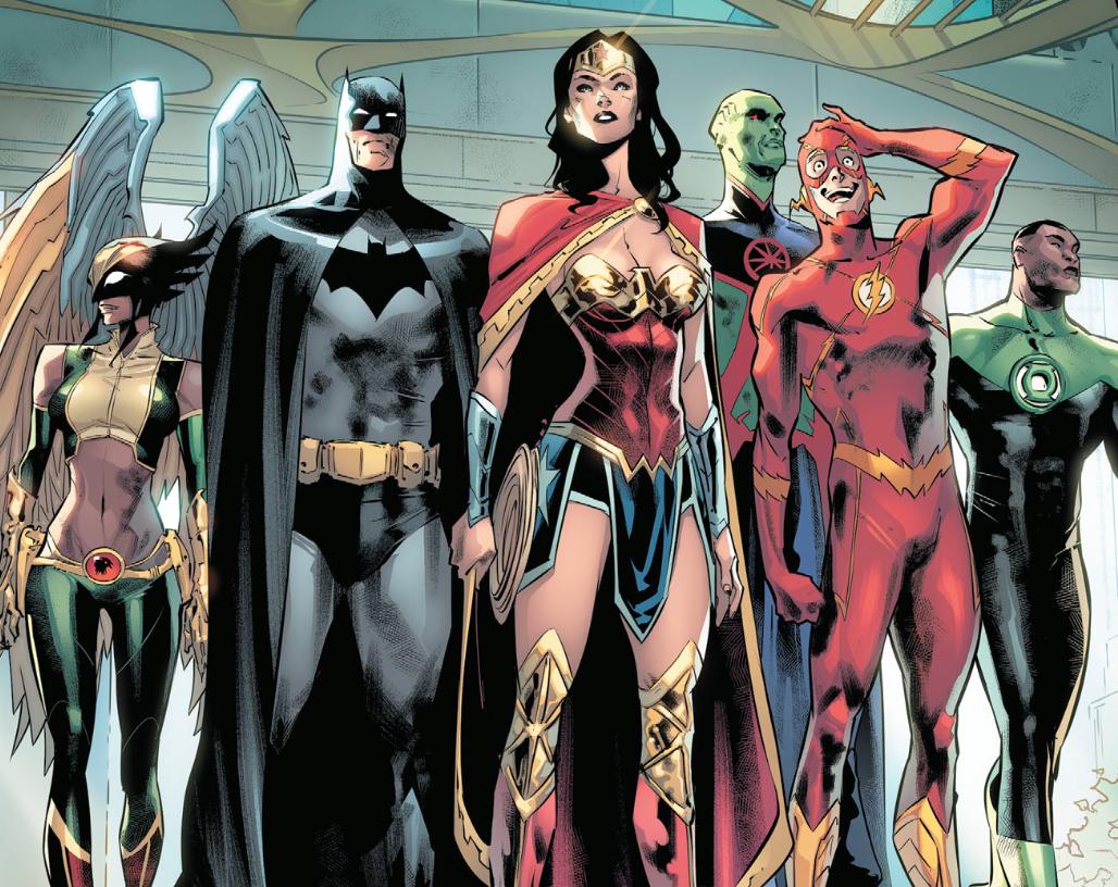 DC发展黑暗多元宇宙是对是错露易丝·莱恩黑化加入红灯军团!