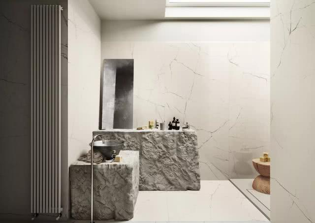 面对侵袭而来的新型冠状病毒,瓷砖上墙正流行,很美,还好清洁