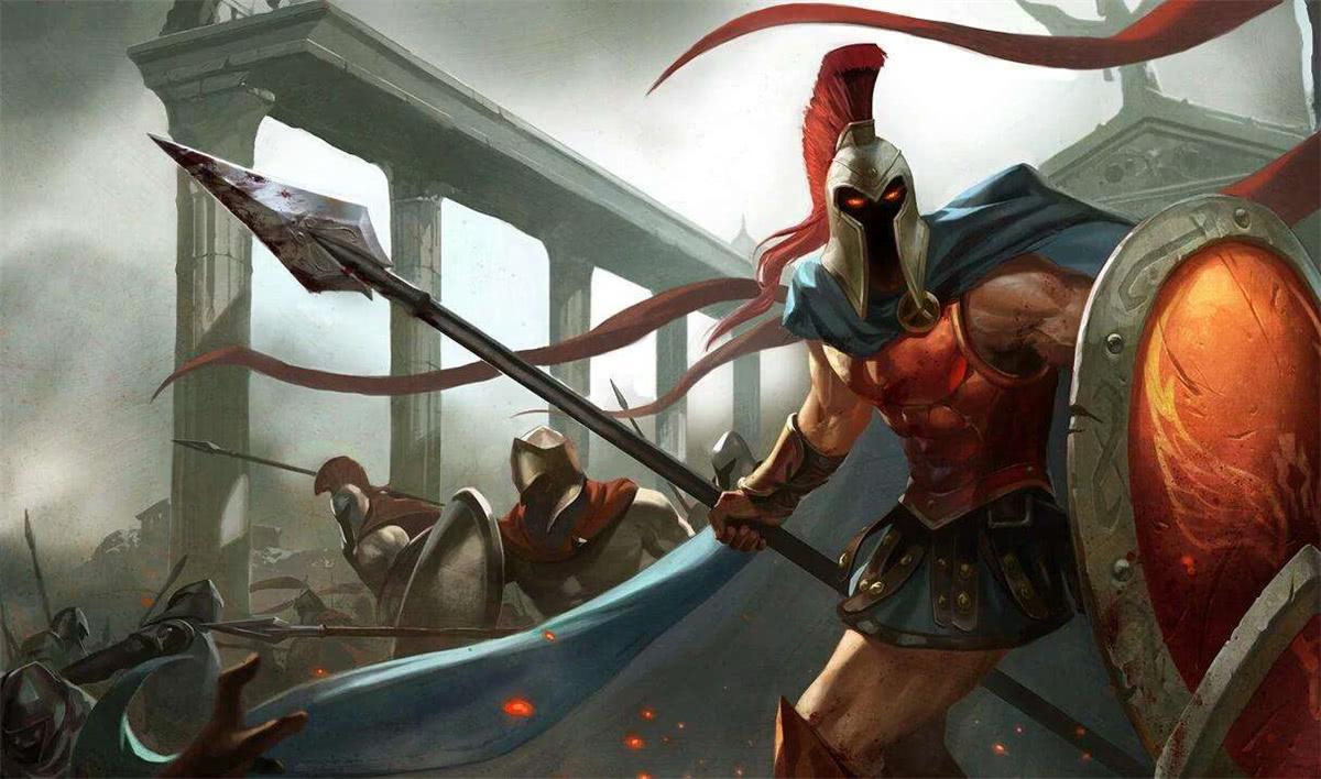 战争之王重制归来,潘森的盾牌不再是摆设,可以免疫前方伤害