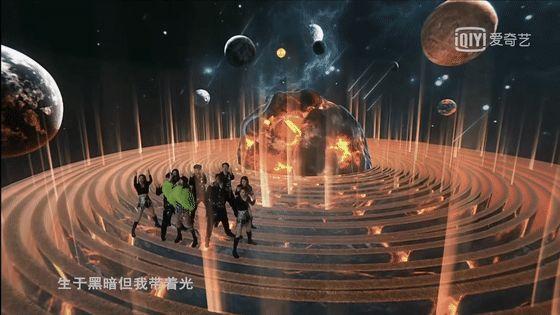 THE9首场演唱会堪比科幻大片:这就是未来娱乐的样子吧