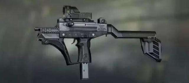 和平精英:UZI太次,野牛下榜,它成了公认最强冲锋枪!