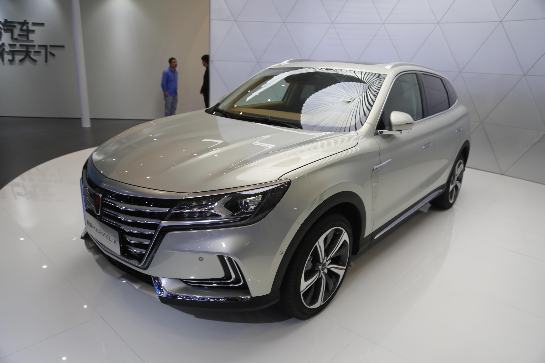 荣威MARVEL X,电动智能超跑SUV,上海车展实拍!