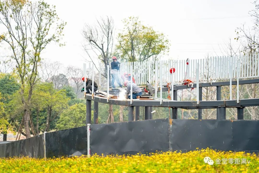 新发现!这条完全免费的玻璃架空栈道就建在金堂人身边,预计年底完工!