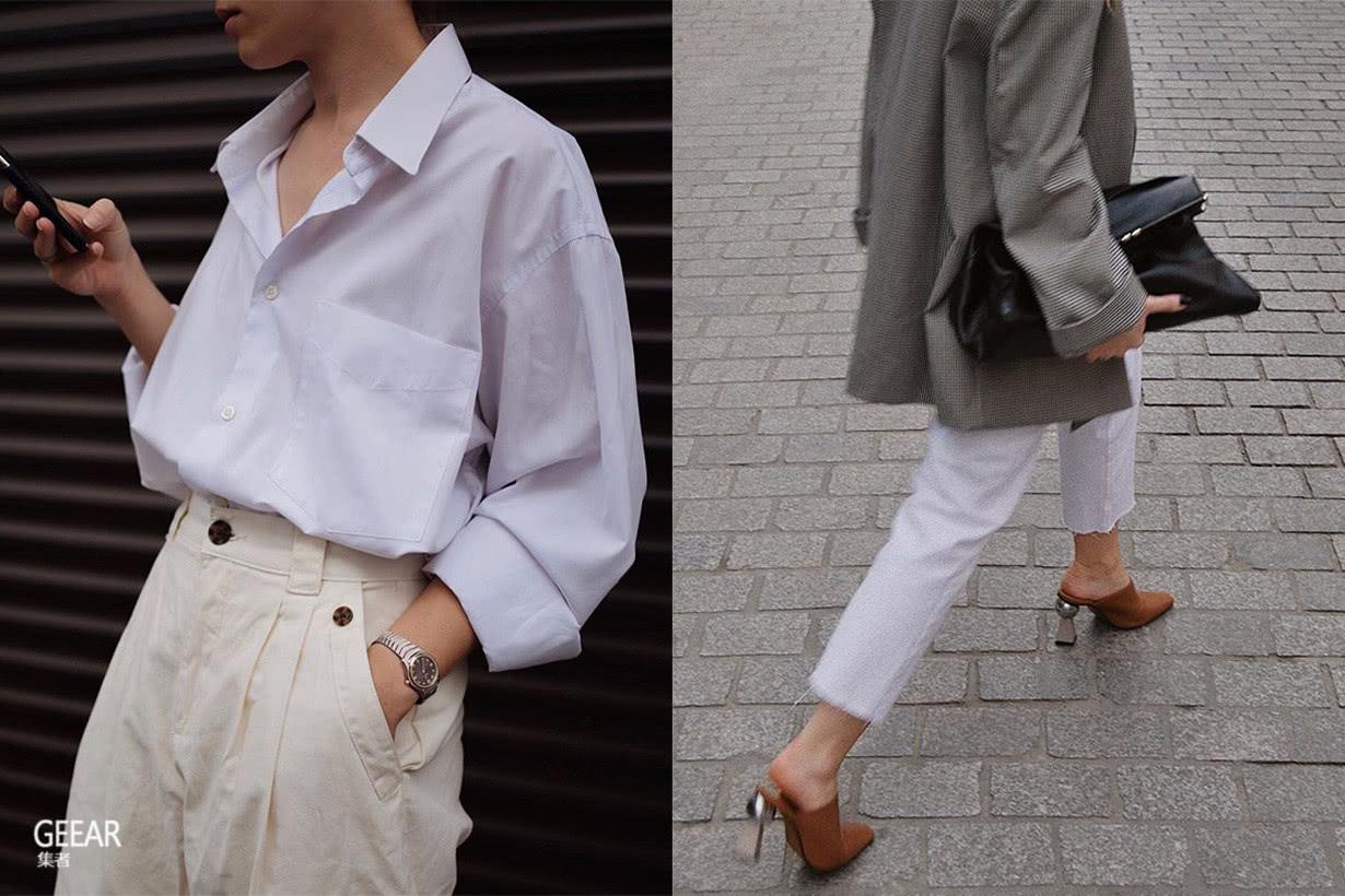 白色牛仔裤如何显瘦?看看街拍潮人如何靠 5 大技巧打消疑虑!