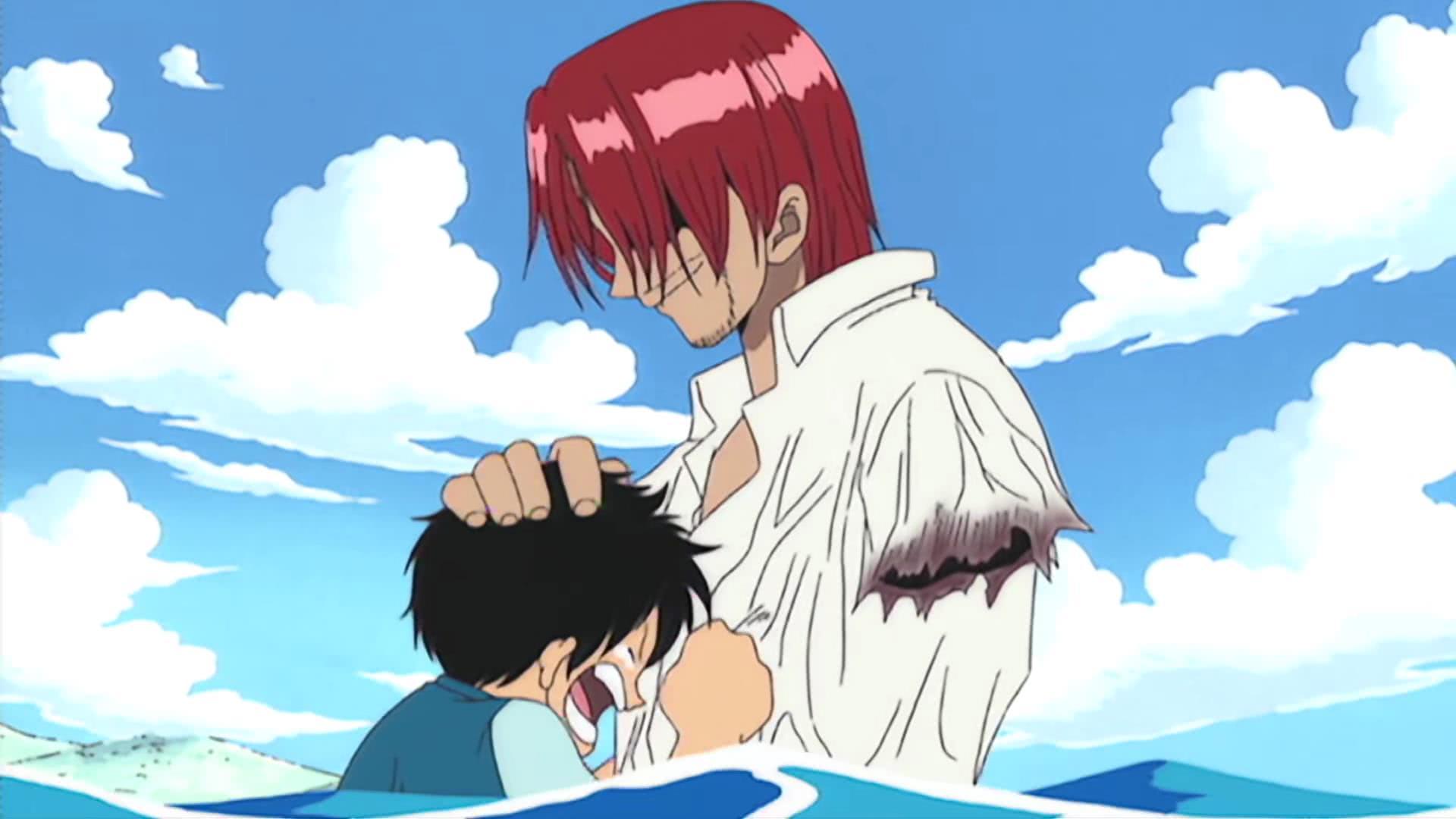 海贼王:榜样的力量太大了,红发当年的壮举,害得路飞差点残废