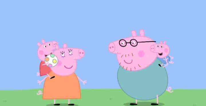 《小猪佩奇》里藏着我们理想的亲子关系,看小猪佩奇学育儿