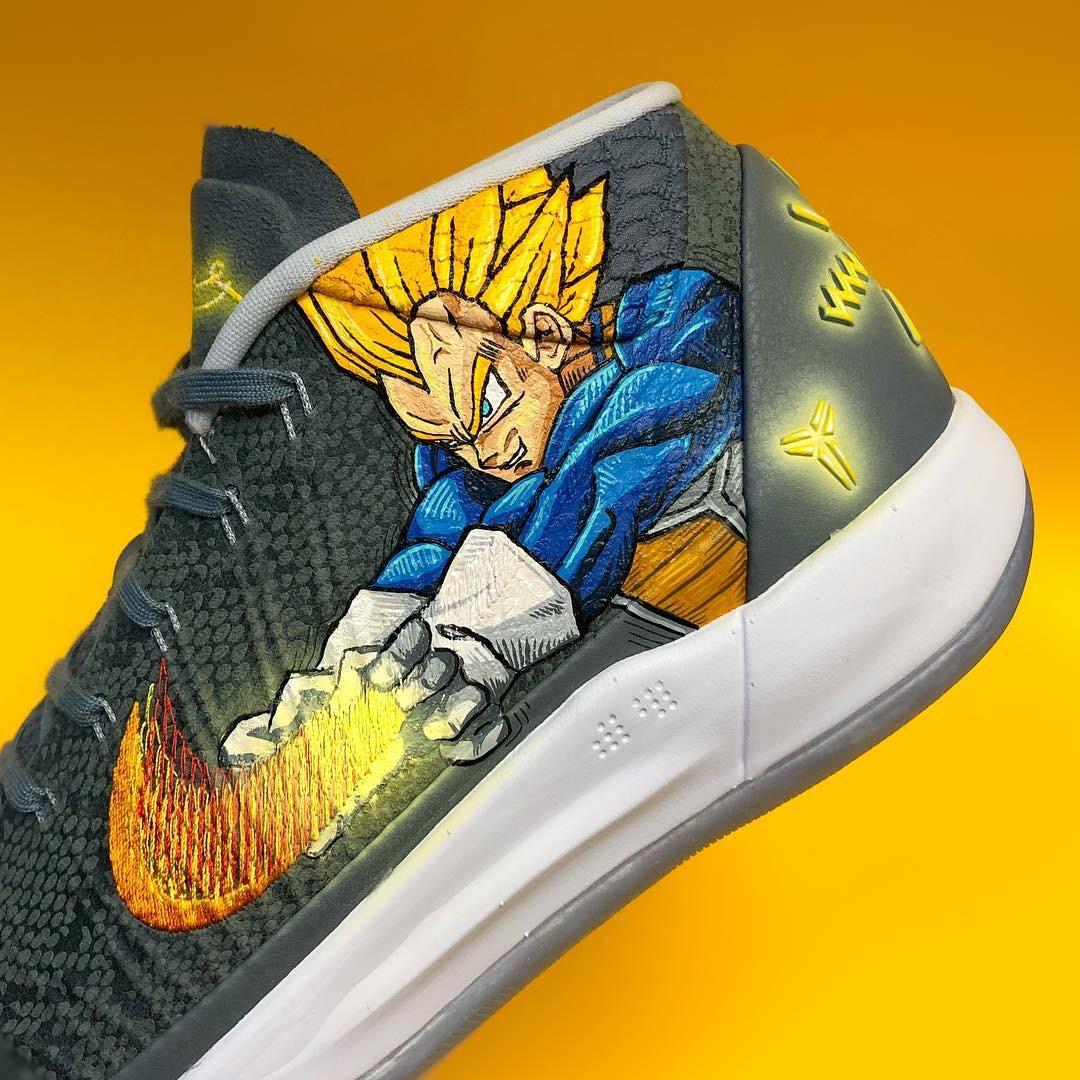 童年的回忆!龙珠定制版KobeA.D.Mid战靴
