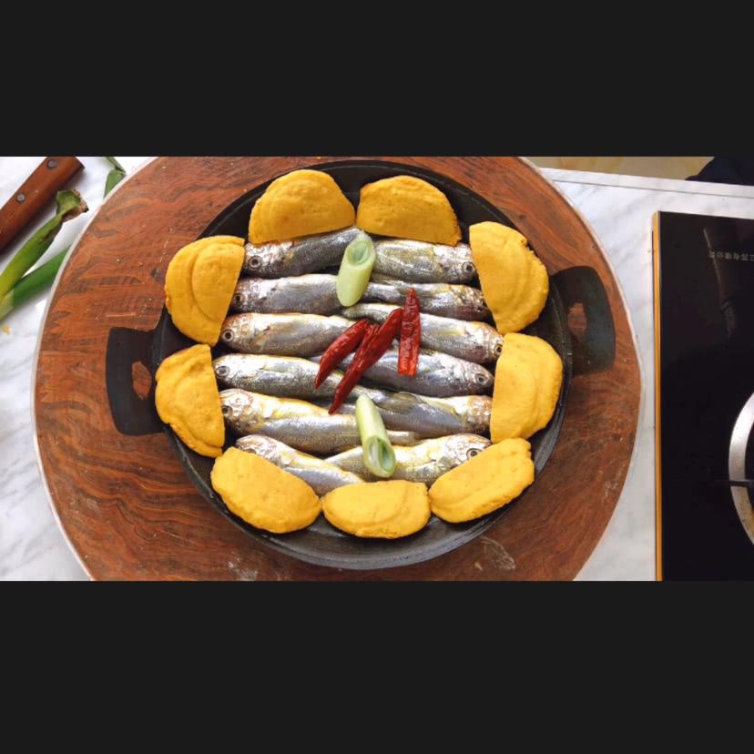 锅贴黄花鱼的家常做法