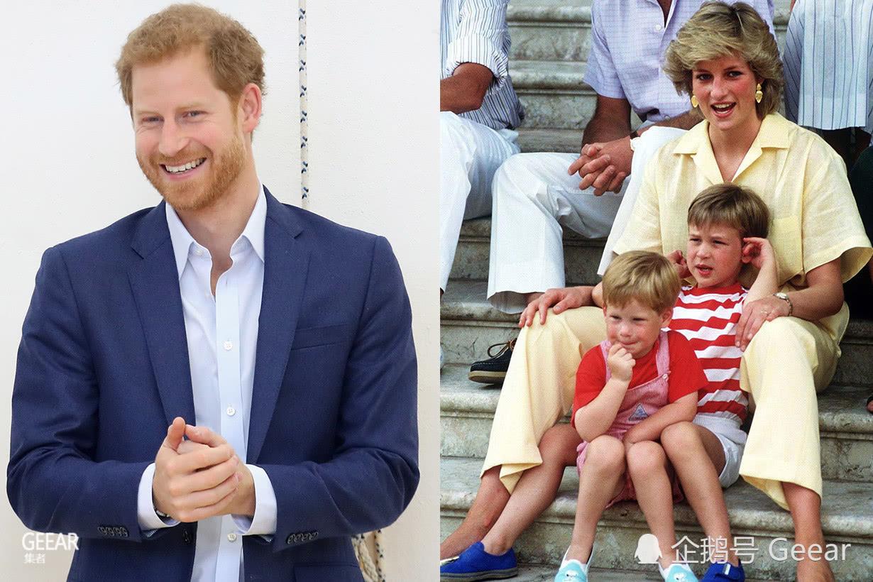 哈里王子重游母亲探访地,看到戴安娜王妃照片后贴心之举!