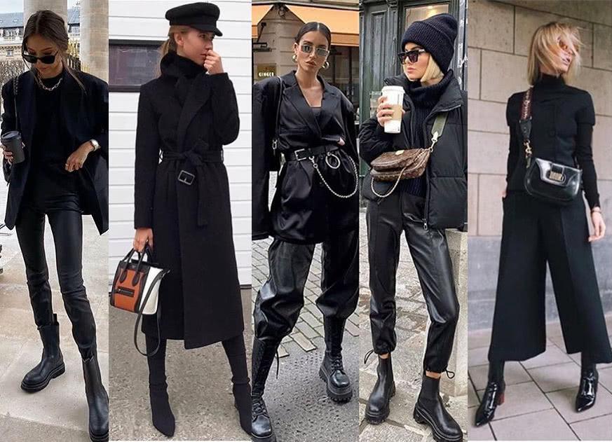 为什么时尚大咖喜欢黑色穿搭?经典不是没理由的
