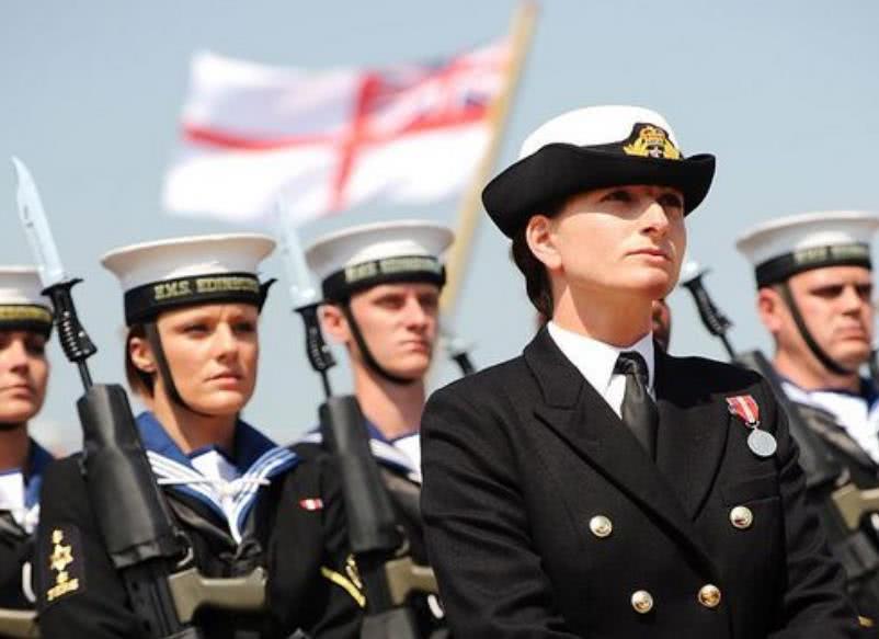 18艘皇家战舰上35名女兵意外怀孕,其中一艘已被派去对抗伊朗