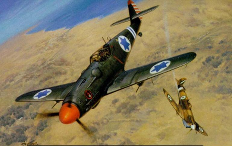 <b>美国王牌一手打造了以色列空军?从欧洲打到中东,成就传奇人生</b>