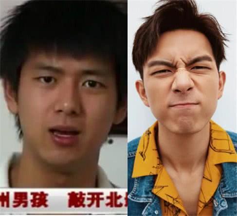 """爱豆的""""路人时期"""":荆州男孩李现婴儿肥,暗沉肿脸都是凡人!"""
