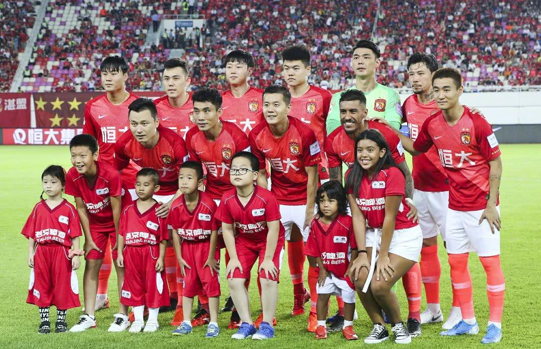 广州恒大只要中超第20轮战胜人和,恒大就能打破队史十连胜纪录