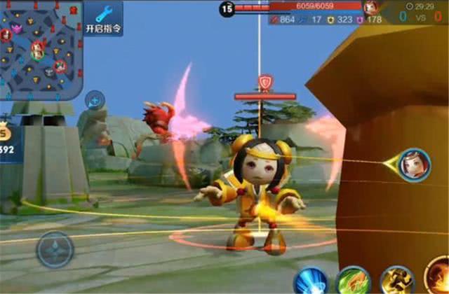 王者荣耀:3D视角下的王者峡谷什么样?红buff对鲁班微笑?