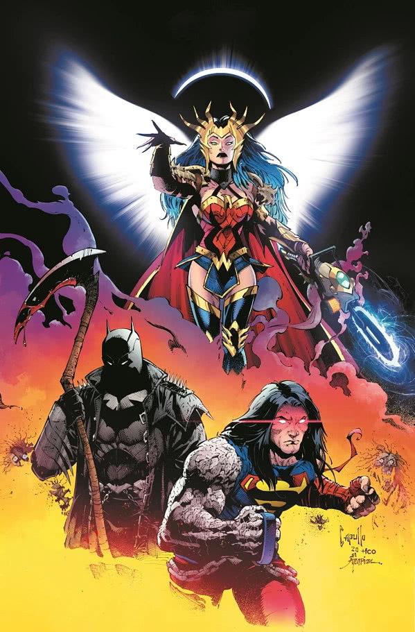 DC最黑暗的故事来了,狂笑蝙蝠统治地球,神奇女侠绝地反击!