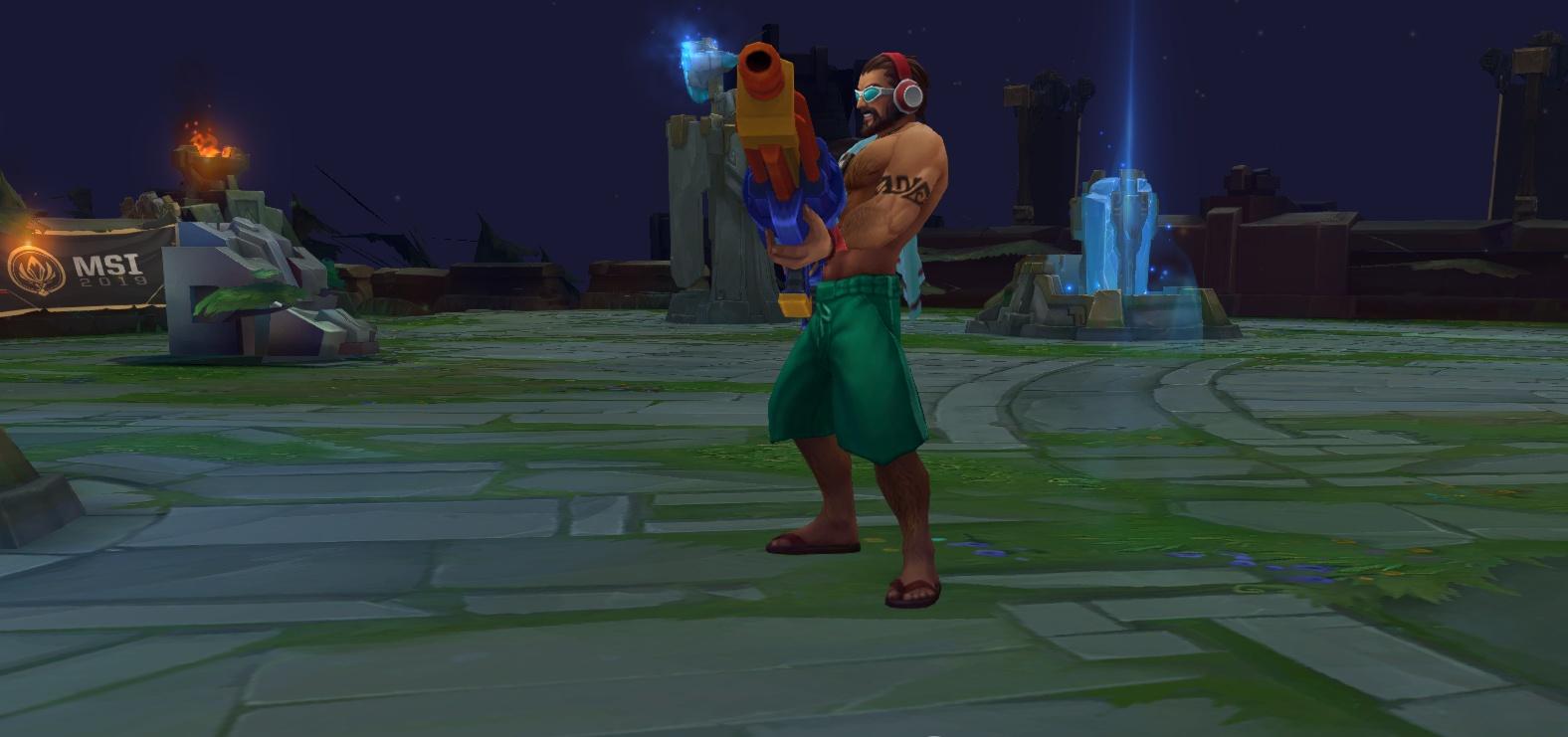 如果LOL复活已经重做的英雄 男枪可以有 他最被玩家期待