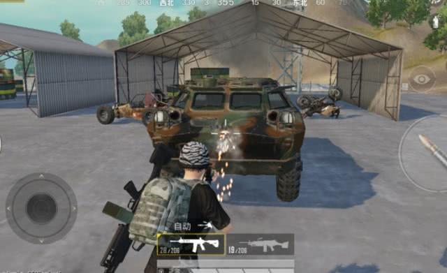和平精英:装甲车速度太慢了?玩家直言:我奶奶走的都比它快!