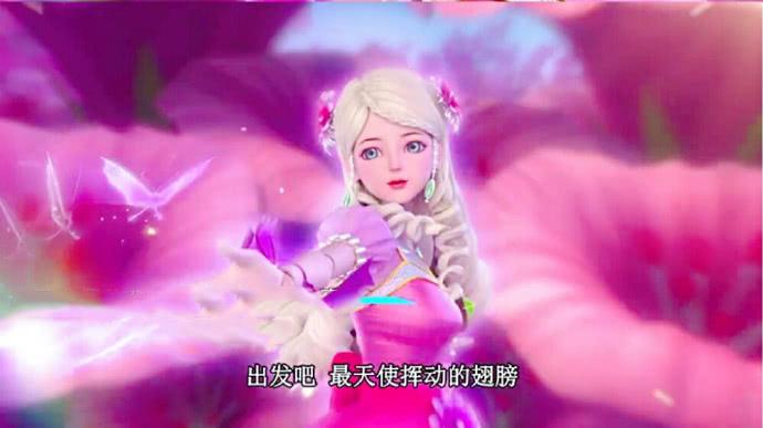 叶罗丽:挥动天使的翅膀,灵公主的出场,暗示茉莉将是圣级仙子