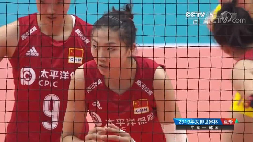 世界杯首战实力碾压!中国女排开局25-21力克韩国女排