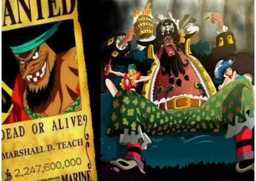 海贼王960话:黑胡子是最强四皇,凯多和大妈结盟,是为了对付他