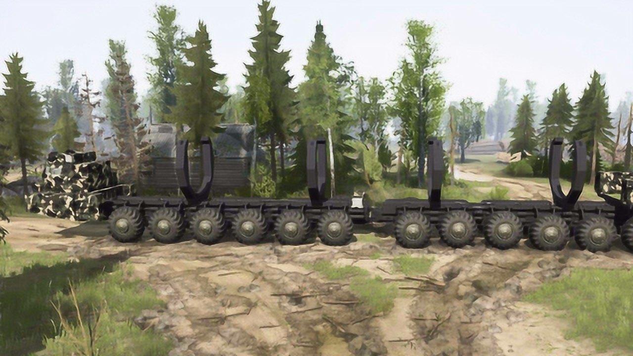 轮胎价值5千万,全球唯一超巨型导弹车有多猛?2小时耗油半吨