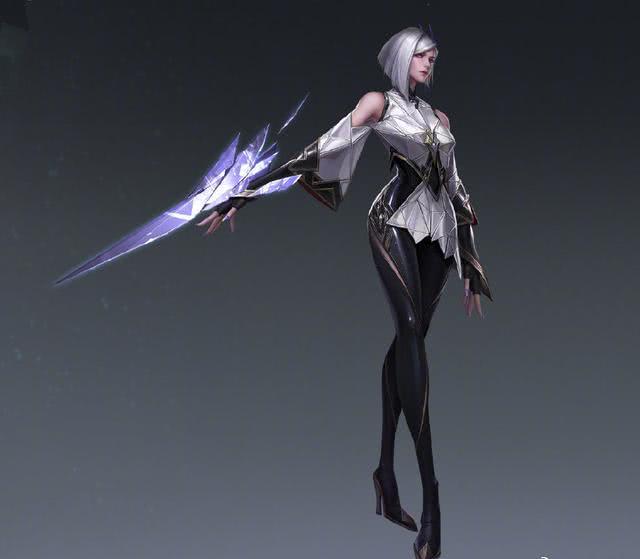 王者荣耀 官方爆料曜姐姐镜的模型 又是一个高冷的女英雄你喜欢吗
