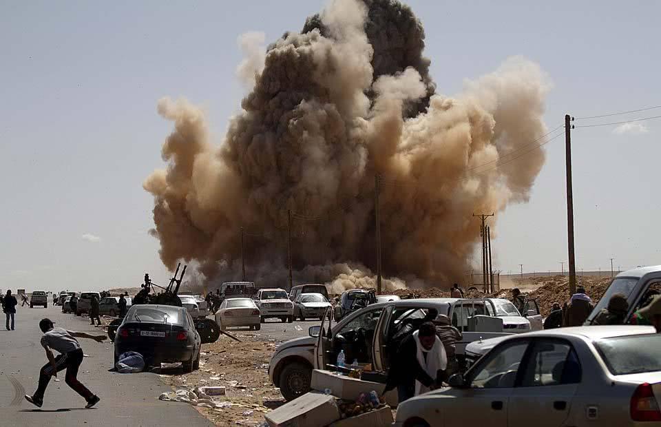 """首都即将被攻破,利比亚邀请美国驻军,打退俄罗斯""""侵犯军"""""""