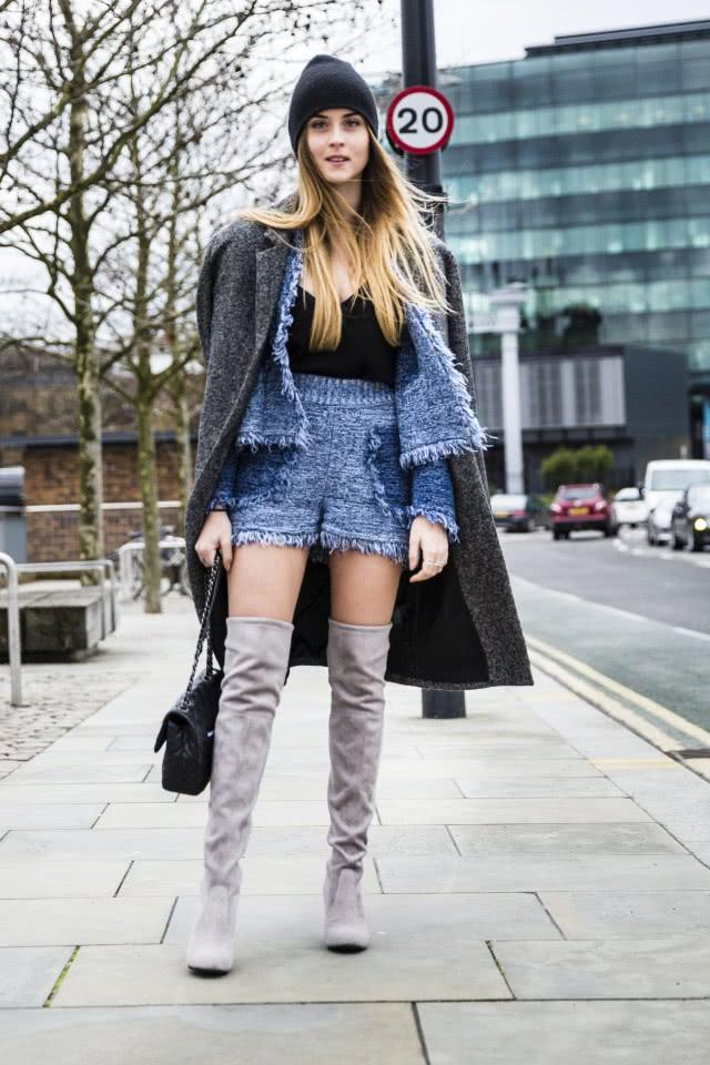 谈谈高筒靴搭配什么衣服 让你穿出时尚气息
