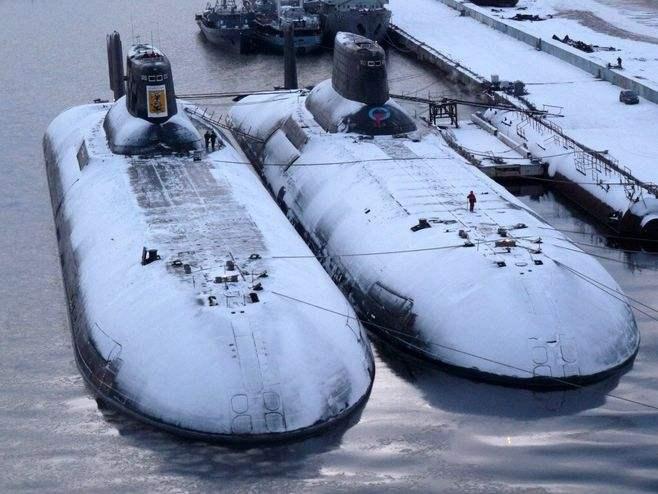 Typhoon-class nuclear submarines