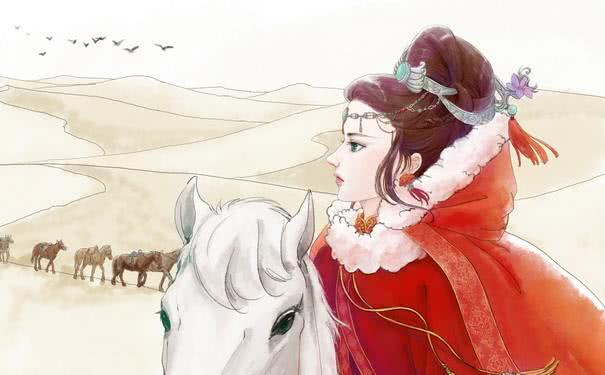 王昭君为什么能落雁因为她的身体上有个缺陷,难怪她爱穿长裙