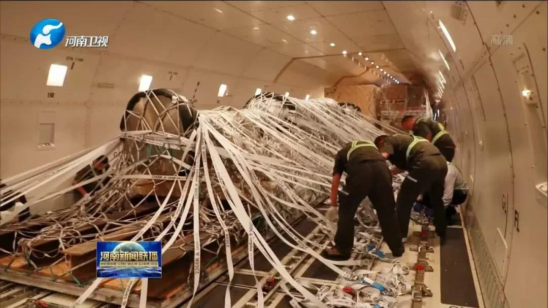 创纪录!郑州机场完成单件43吨超长超重货物作业保障