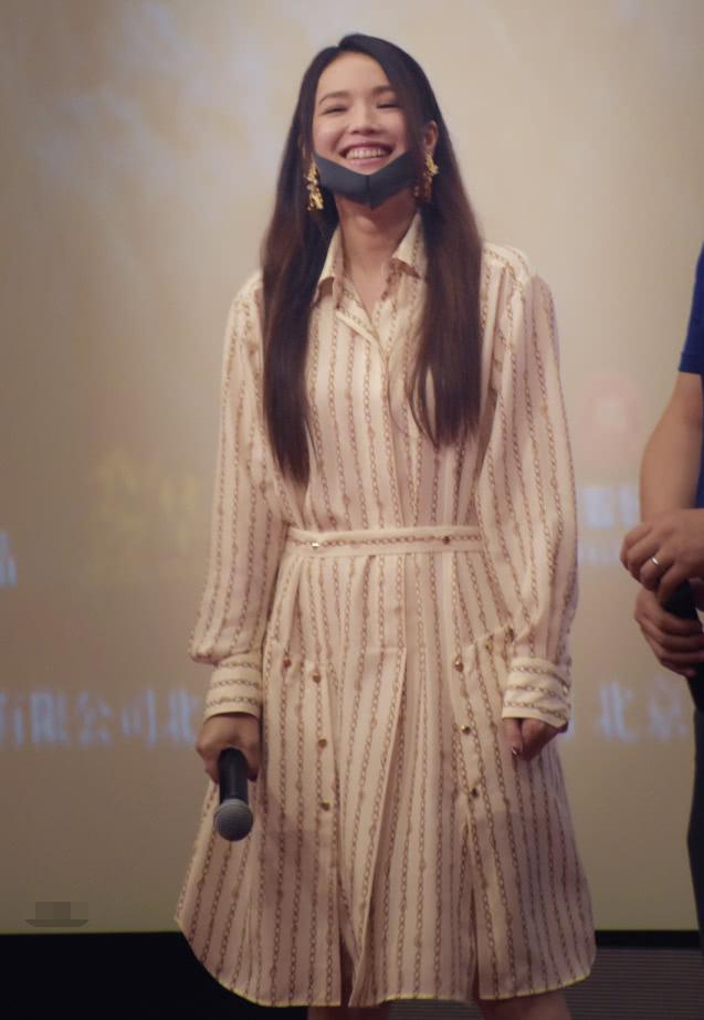 舒淇为《上海堡垒》宣传,未P图疑似脸上过敏,女神这次拼了?