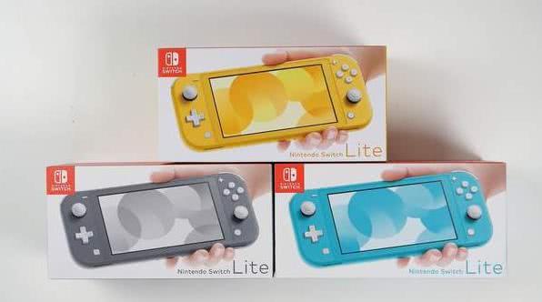 任天堂新主机Switch Lite 轻薄小巧随时可玩