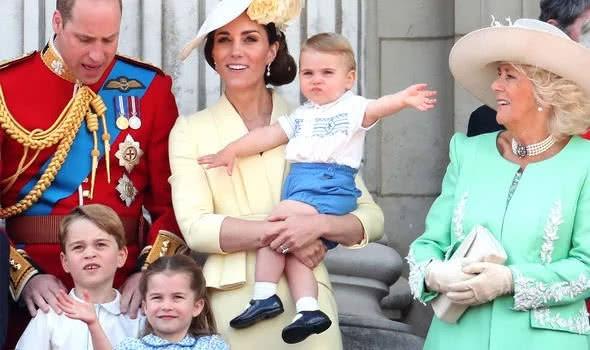 凯特王妃的小儿子路易王子是个暴脾气,却比哥哥姐姐更受欢迎