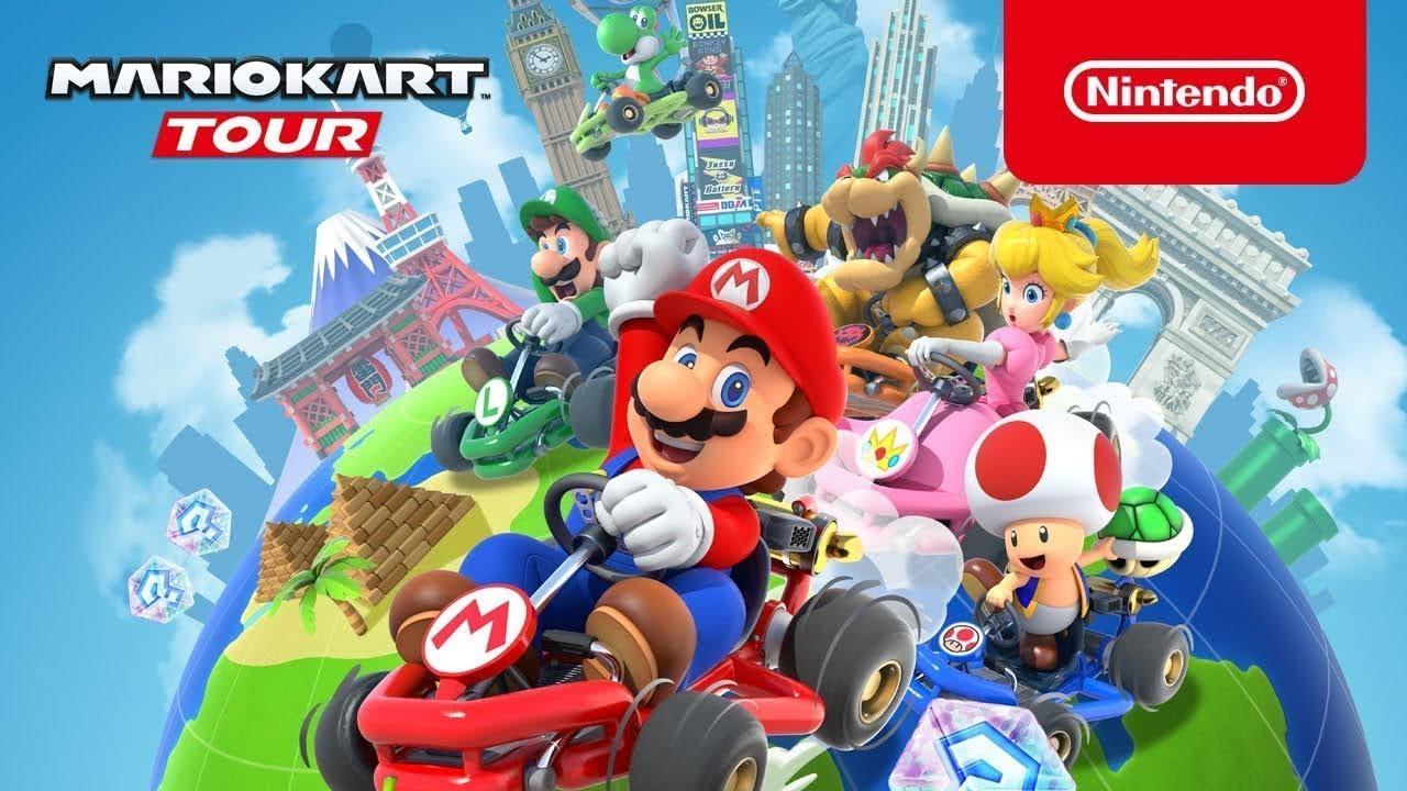 <b>马里奥赛车之旅:任天堂迄今为止最大的移动游戏发布</b>
