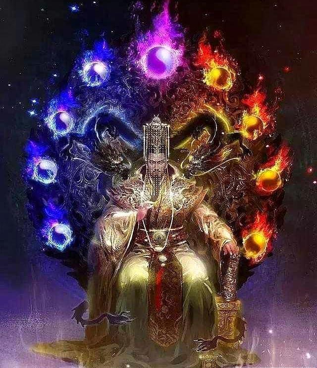 仙侠剧中敢和天帝叫板的六大神魔,润玉第四,战神刑天斩杀天帝