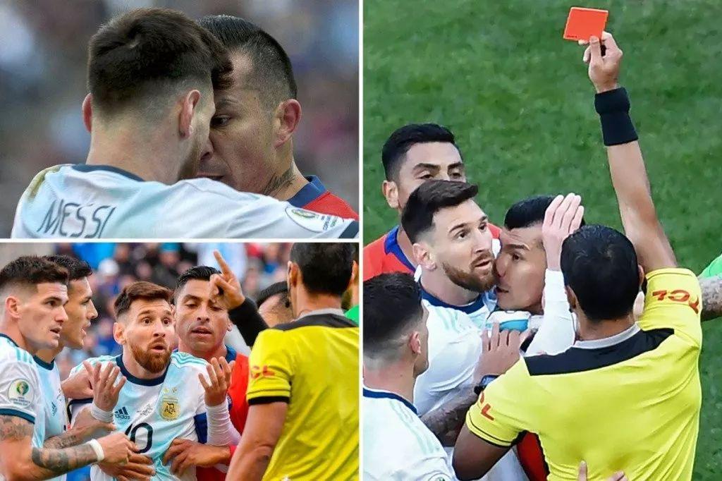 没有重罚!梅西只停赛一场,阿根廷足协主席替他挡枪了?