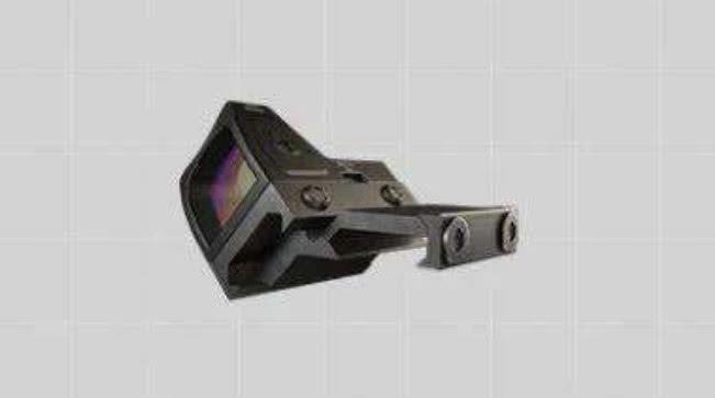 和平精英:侧面镜就应该搭配这款瞄准镜,简直如虎添翼!
