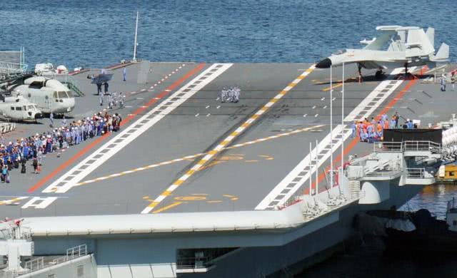 卫星照片送惊喜:国产航母完成关键试验,战力将飙升50%