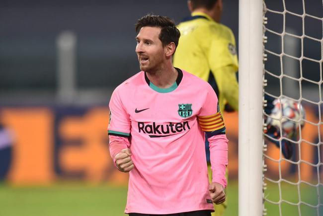 「梅西让点球库蒂尼奥」取代C罗成点球王?梅西1球1助,欧冠客胜尤文!10场4球皆点球