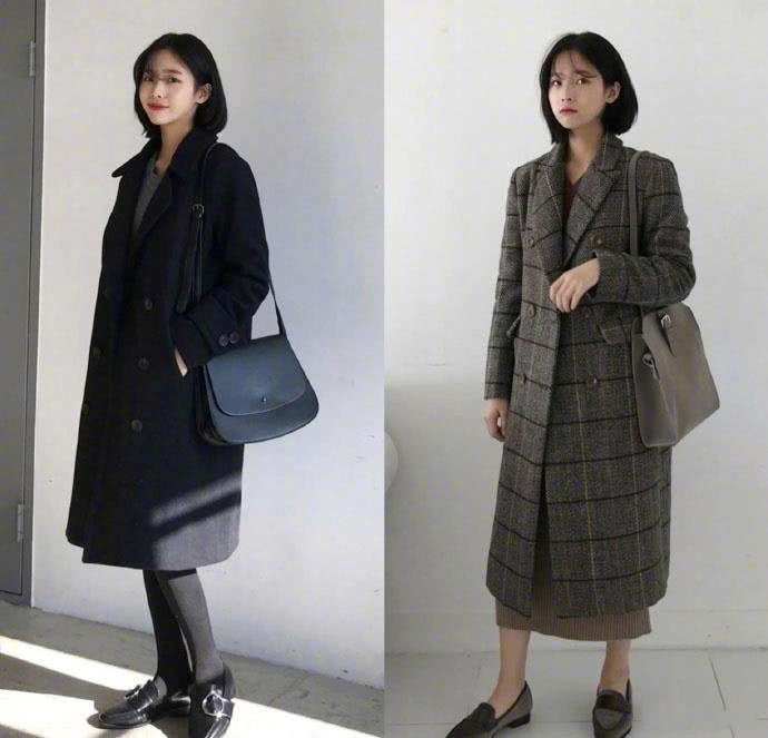 简单出众才是硬道理,时尚保暖兼具的基础款,冬天不愁了