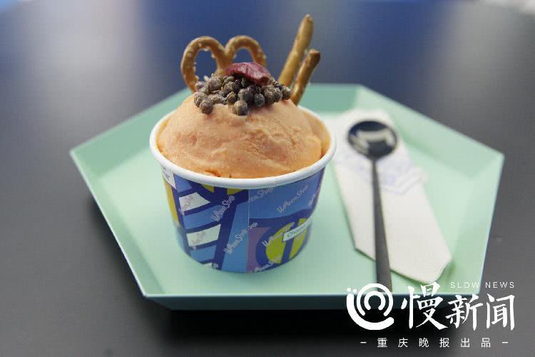 冰淇淋见得多,你吃过火锅冰淇淋吗?