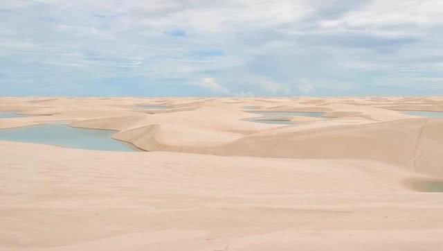 """世界最""""特殊""""沙漠,遍地湖泊鱼虾成群,降雨量达到1600毫升"""