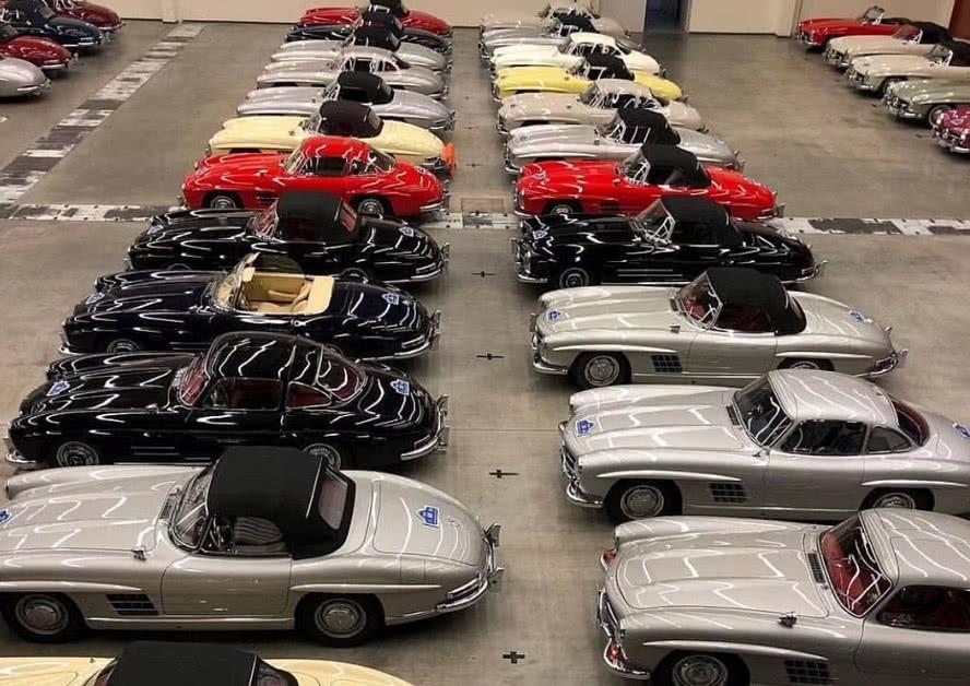 最美奔驰的修复厂,一年仅修复50辆,修复的车最便宜都要7百万