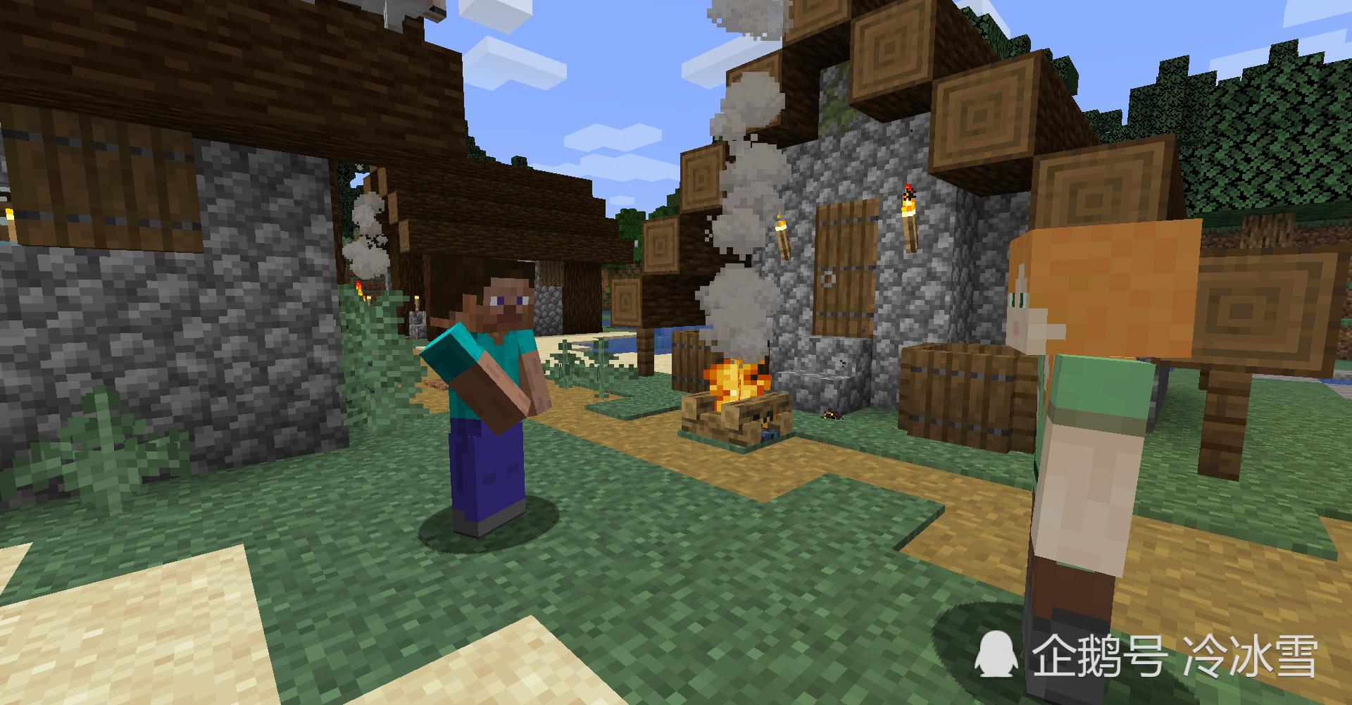 """我的世界:第一次建造房子的好地方,这才是""""风水宝地"""""""