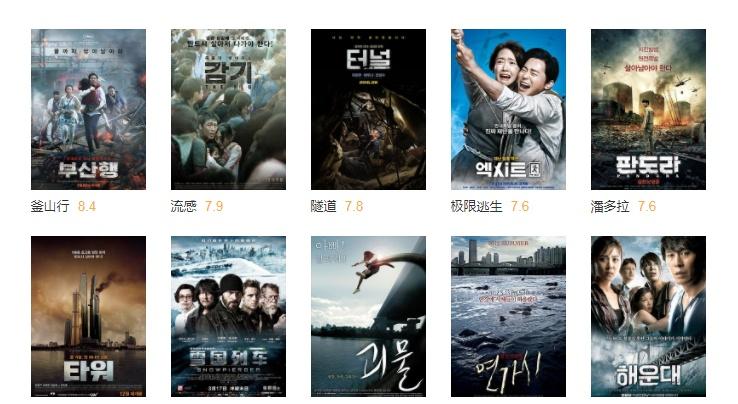 十部韩国经典灾难片,《汉江怪物》只能第八,第一豆瓣高达8.4