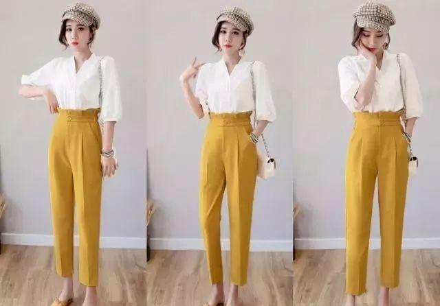 5套极简主义穿搭,舒适不失时髦感,真的越简单越美丽!