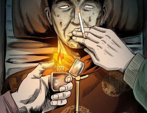 三老爷惊奇手札之《给我一支烟》