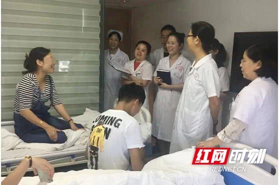 中科医务工作者:七夕最好的礼物就是看到患者康复